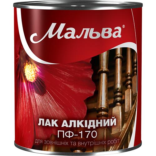 лак алкидный пф-170 мальва