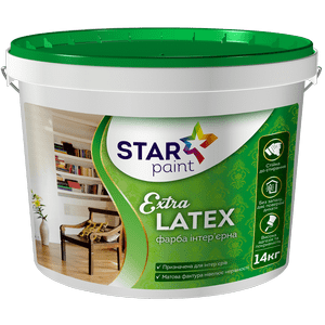 Extra LATEX интерьерная краска STAR Paint