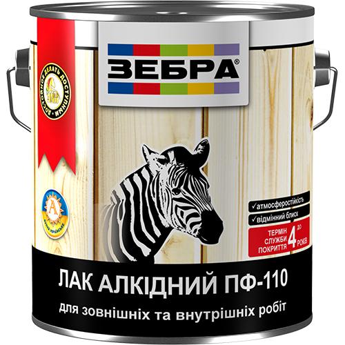 Лак алкидный пф-110 зебра