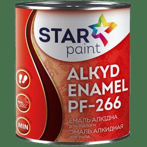 Эмаль для окраски полов алкидная ПФ-266 STAR Paint