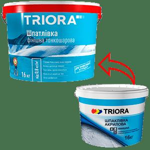 Шпатлевка акриловая финишная TRIORA