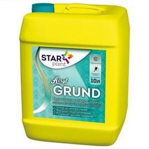 Acril GRUND грунтовка акриловая STAR Paint