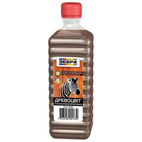 лак цветной древоцвет зебра