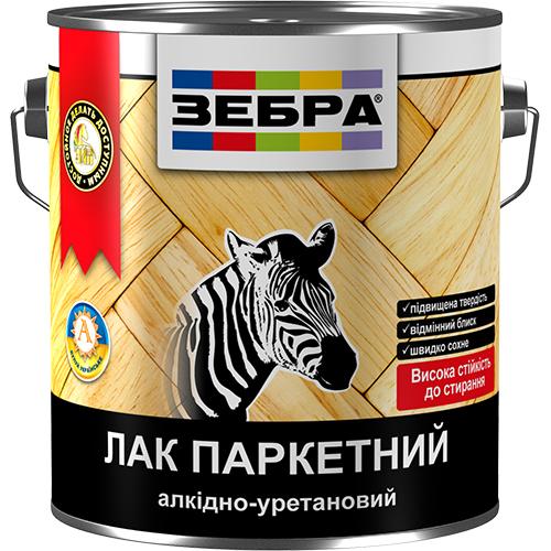 лак паркетный алкидно-уретановый зебра