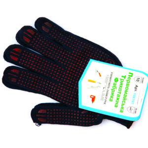 перчатки с пвх точками