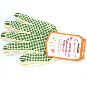 тонкие универсальные перчатки с пвх точками