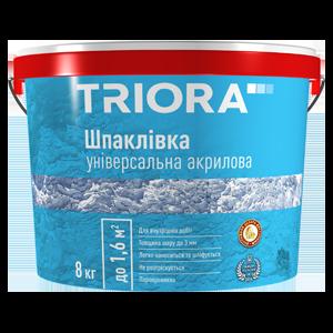Шпаклівка універсальна акрилова TM TRIORA