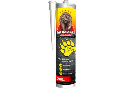 Клей для пенополистирола Grizzly - в чем его преимущества