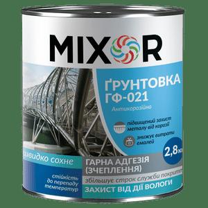 Грунтовка антикоррозионная ГФ-021 Mixor