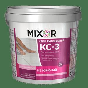 Клей строительный КС-3 MIXOR