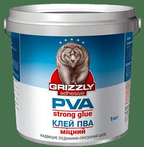 Клей ПВА «Крепкий» Grizzly