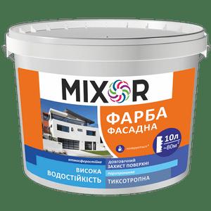 Краска фасадная акриловая MIXOR
