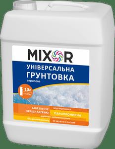 Универсальная акриловая грунтовка MIXOR