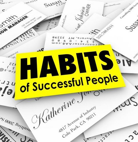 7 базовых привычек успешных людей