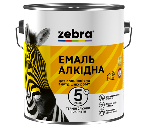 Новая эмаль ZEBRA: теперь есть краска, которая не выгорает на солнце