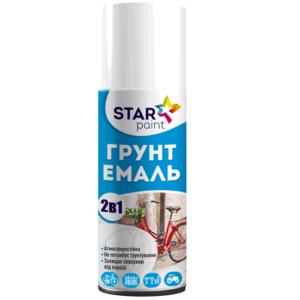 Эмаль-грунт 2 в 1 в аэрозольной упаковке STAR Paint